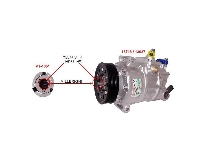 Correct assembly PT-1051